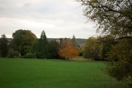 Green at Crescent Circle, Bath, England