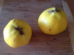ayva, or quince fruit