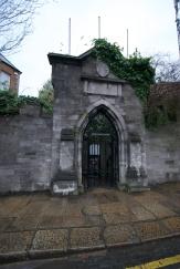 side entrance to St. Patrick's
