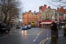 street scene, Dublin