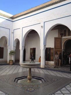the wives courtyard