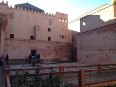 courtyard of the Saadian Tombs