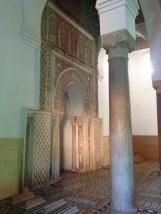 inside the Saadian tombs