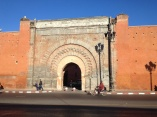 one of the gates to the old kasbah