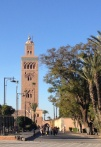 Koutoubia Mosque minaret.