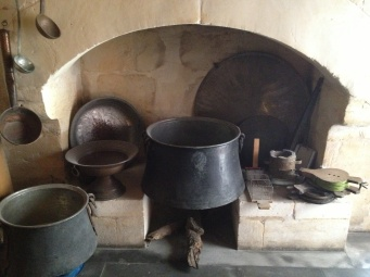 a hearth in the Culinary Museum