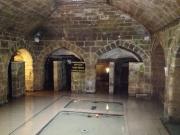 the kastel, an underground bathing, praying, resting place