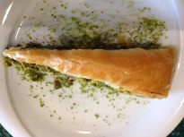 carrot-shaped baklava