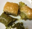 typıcal baklava mıxed plate