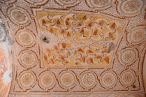 the ceiling of the Grape Church