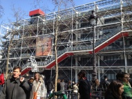 "The Pompidou Centre, an ""eyesore"" to the classic Parisian"
