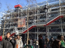 "The Pompidou Centre, an ""eyesore"" to the classic Parisian"