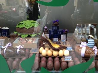 A Chocolate Shoe - wow!