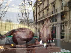 I know this is hard to see, but these are huge chocolate fish!