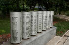 the memorial to children who died during the siege