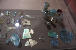glass found in the agora