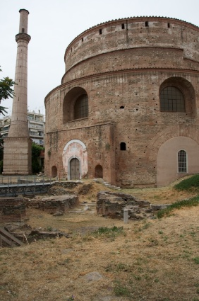 the rotunda, which became a church and a mosque