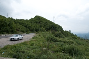 the road in Albania