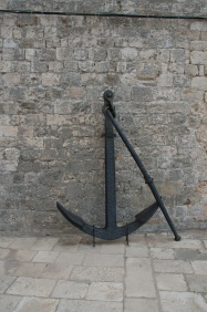 anchor from the nautical museum