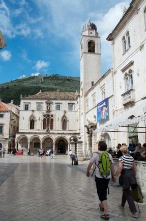 the main avenue