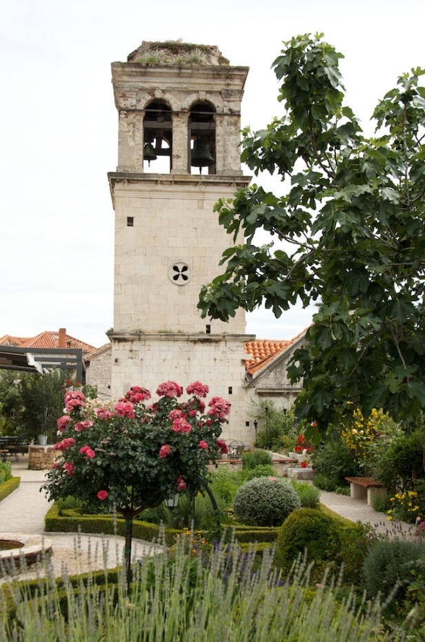 monastery bell tower
