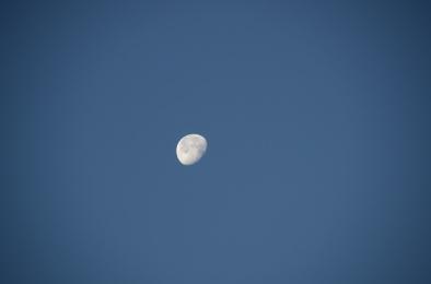 The moon was amazing
