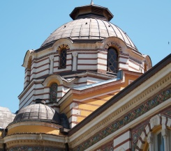 roof detail of the Public Bathhouse