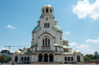 St. Alexander Nevsky Cathedral - yes, that roof is gold!