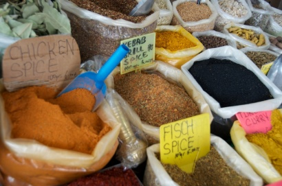 there's always a spice section