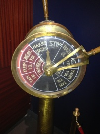 a Turkish EOT (Engine Order Telegraph)