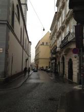 street near my hotel