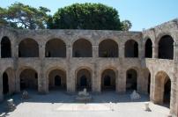 portico courtyard