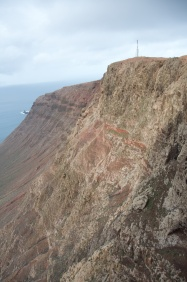 I couldn't get it in one frame, but this cliff is 450 m