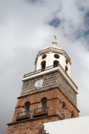 the tower of Teguise's church