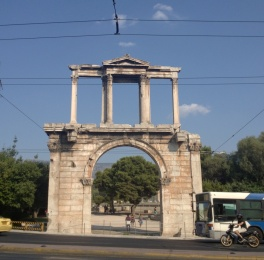 Hadrian's Gate, outside of Zeus's temple