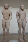 the twins, Omphalos and Oenomaus