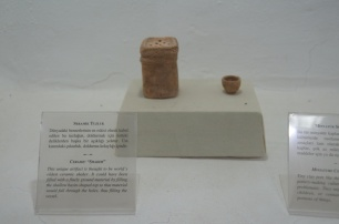 ancient salt shaker
