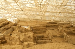 inside the second mound