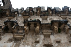 the stage wall held statues on every ledge, some of which can be seen at the Antalya Archaeological Museum