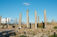 columns from the agora