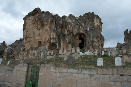 a few Phrygian tombs