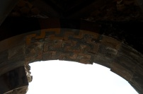 a stonecut arch