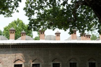 the roof of Koza Han