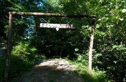 the ecolodge entrance