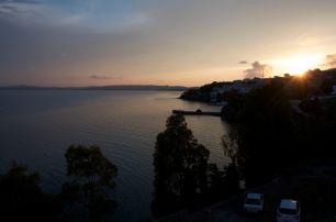 sunset over Sinop