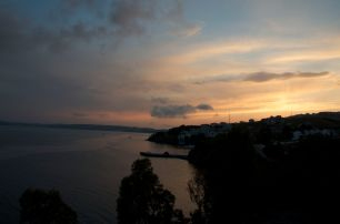 sunset in Sinop