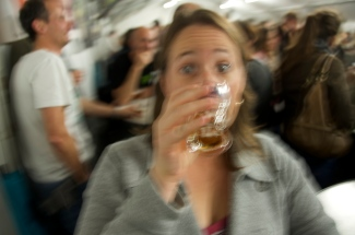 Kids, don't drink too much, or everything will get blurry