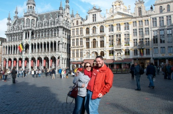 in the Grand Place