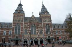 Rijksmuseum itself is a beautiful building
