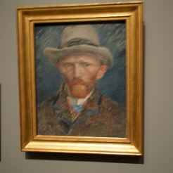 always best to see Van Gogh's work in person for the lively brushstrokes